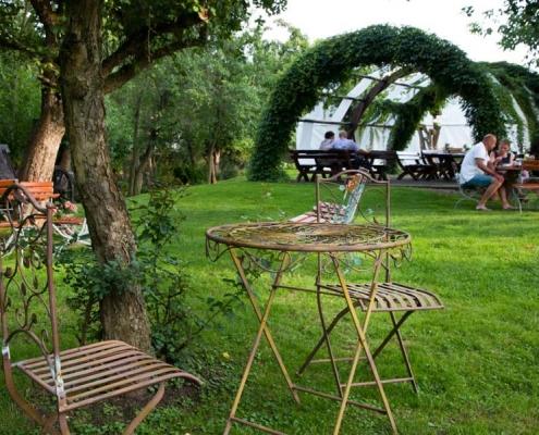 Schmiedelandhaus Greifendorf Schmiedegarten
