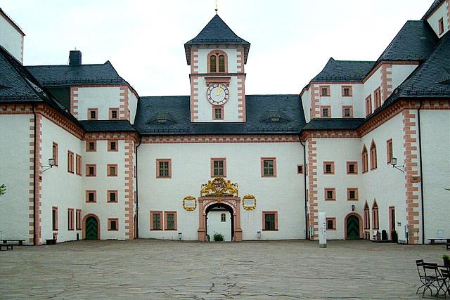 Schloss Augustusburg im Erzgebirge