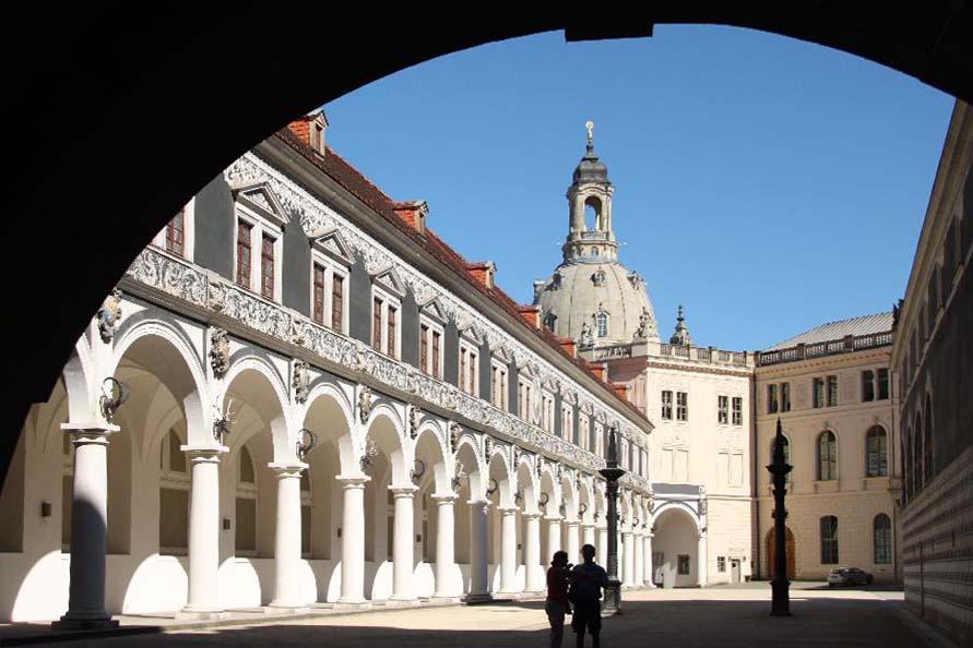 Dresden, Stallhof am Residenzschloss, Foto A. Bieber