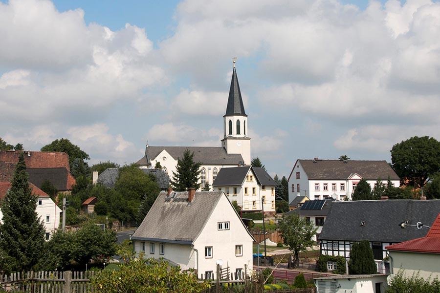 Greifendorf Ortsansicht 2017