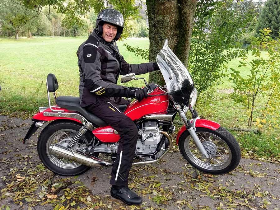 Motorradfahren - der Traum von Freiheit, Foto A. Bieber