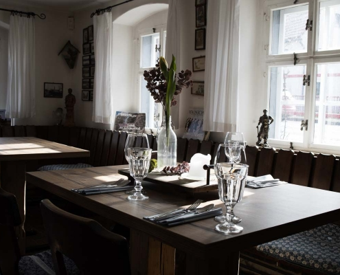 Gasträume: Stube des Dorfschmieds