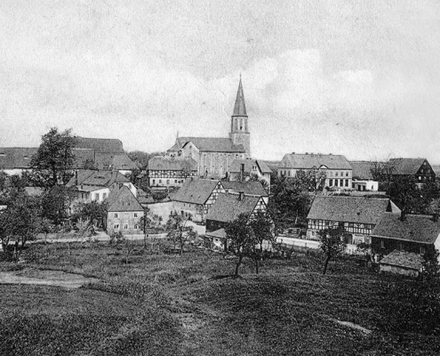 Ortsansicht Greifendorf um 1900