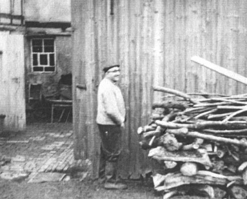Der letzte Dorfschmied Otto Teucher