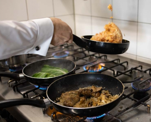 Zubereitung Speisen